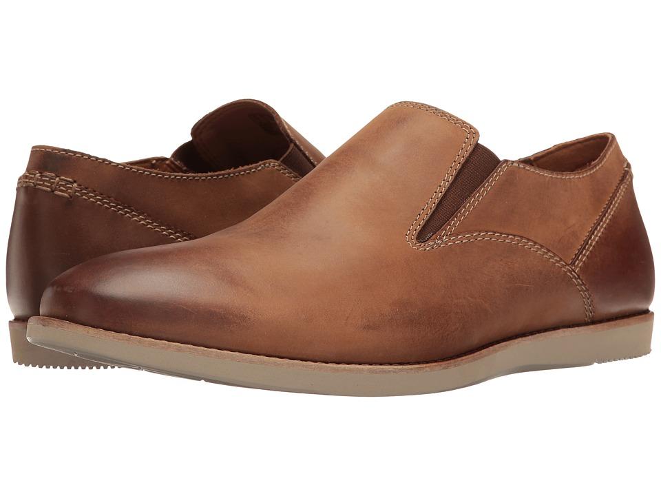 Clarks Franson Stride (Tan Leather) Men