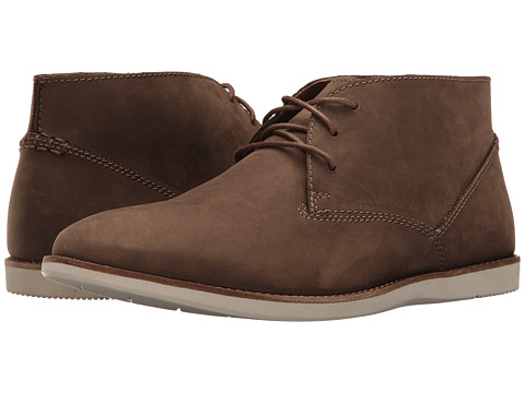 Clarks Franson Top - Brown Nubuck
