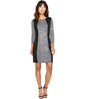 Calvin Klein - Sheather Sweater Dress with Scuba Insert CD6W2W9F