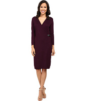 Calvin Klein - Long Sleeve Mock Wrap Sweater Dress CD6W1642