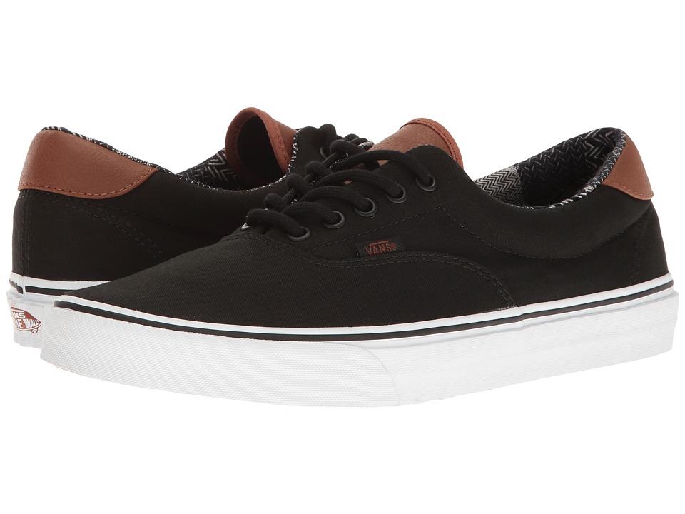 Vans Era 59 ((C&L) Black/Material Mix) Skate Shoes