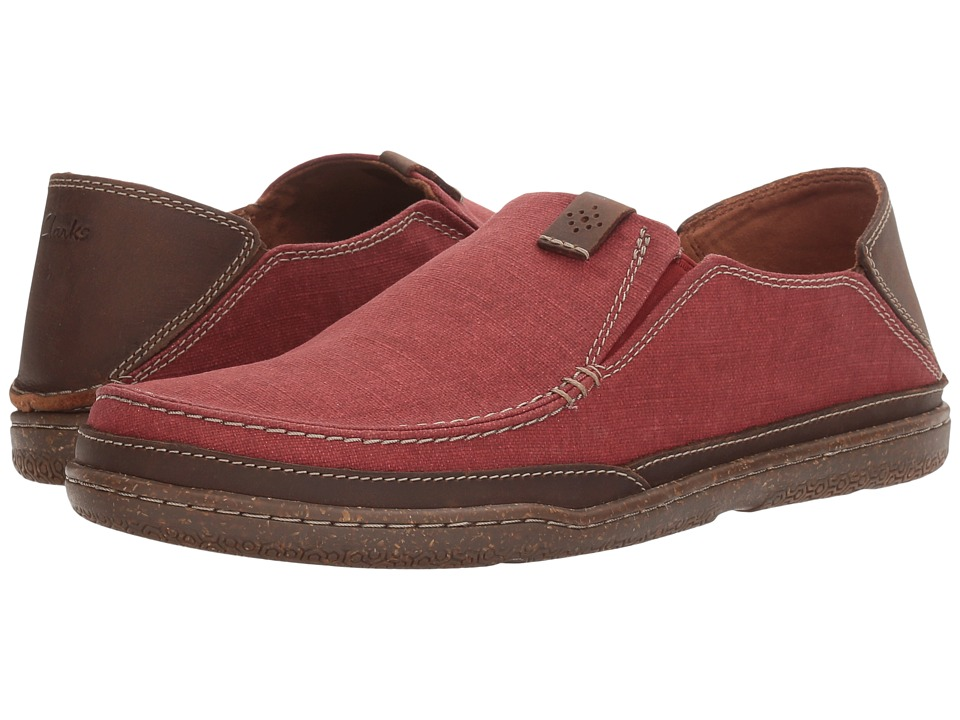 Clarks Trapell Form (Red Canvas) Men