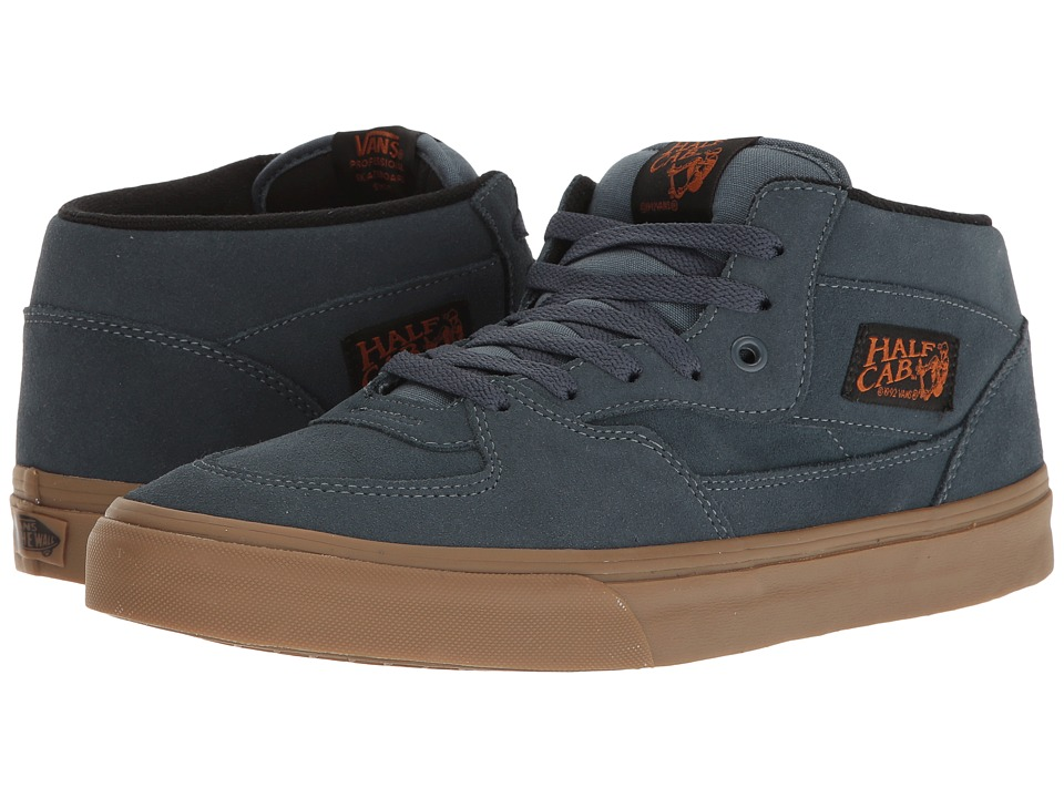 Vans - Half Cab ((Gum) Dark Slate/Black) Skate Shoes