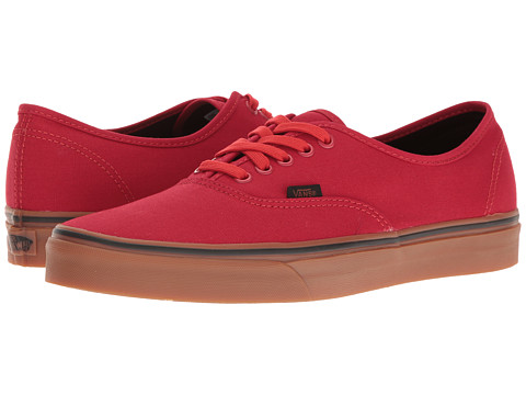 Vans Authentic™ - (Gum) Racing Red/Black