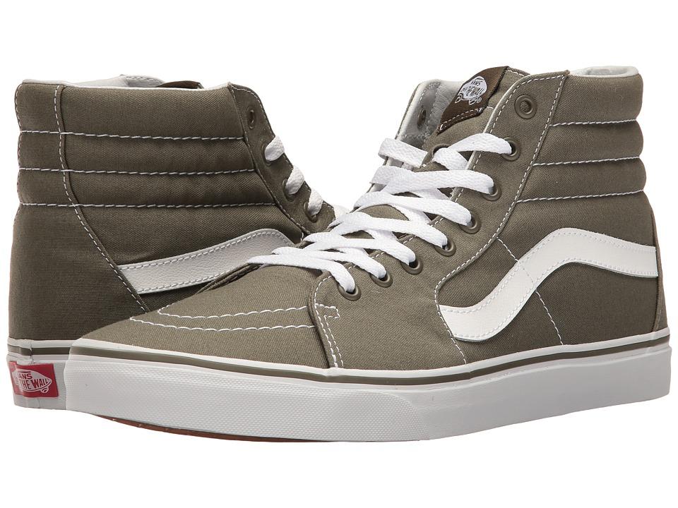 Vans - SK8-Hi ((Canvas) Grape Leaf) Skate Shoes