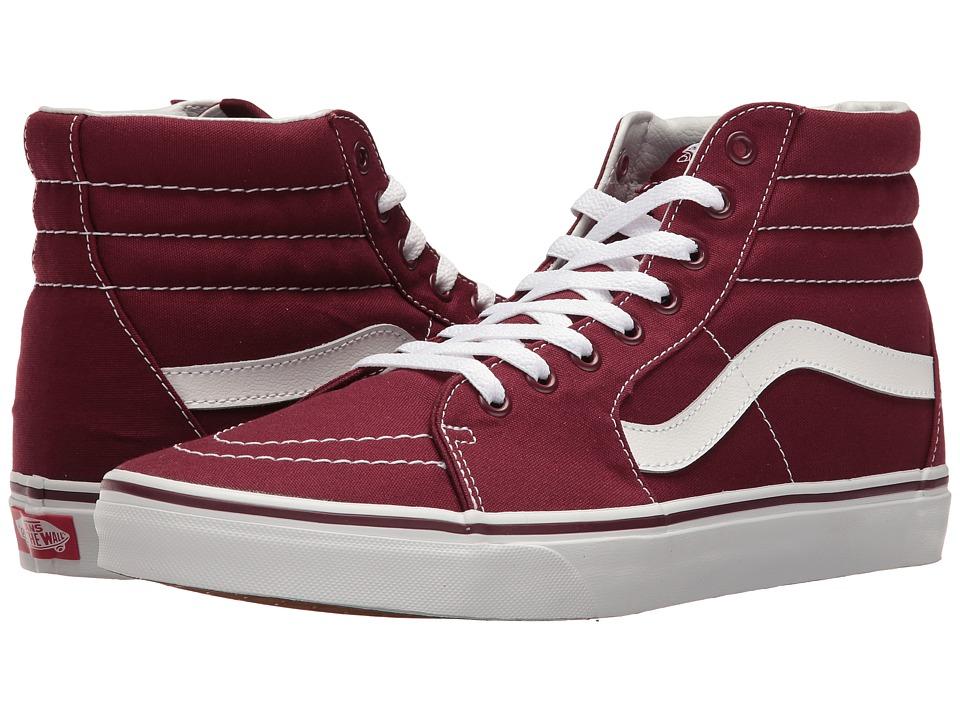 Vans - SK8-Hi ((Canvas) Port Royale) Skate Shoes