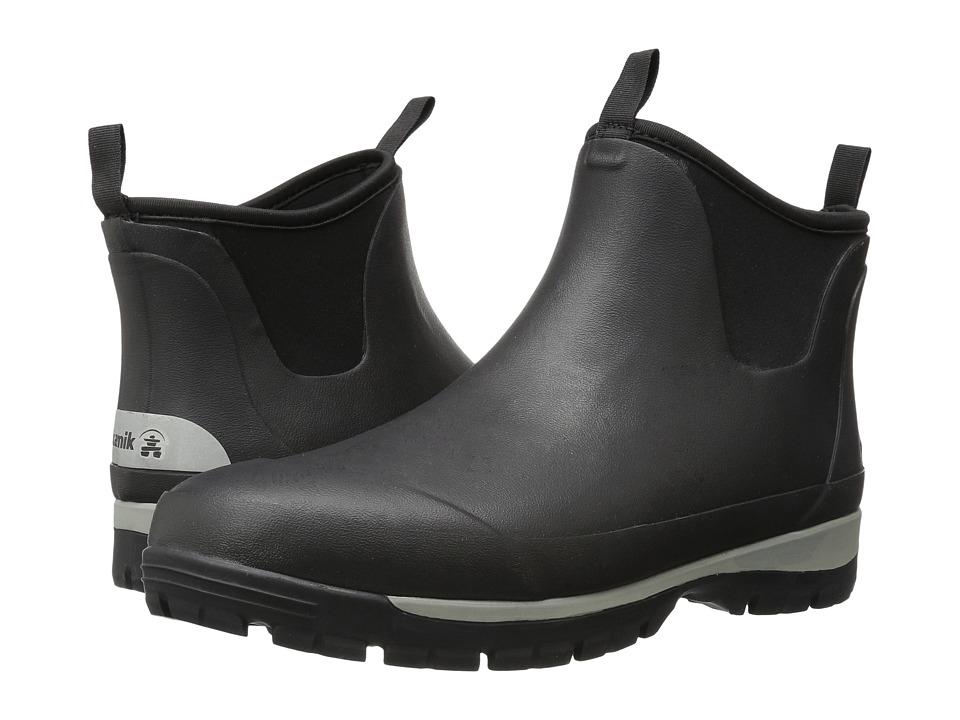 Kamik - Lars Lo (Black) Mens Rain Boots