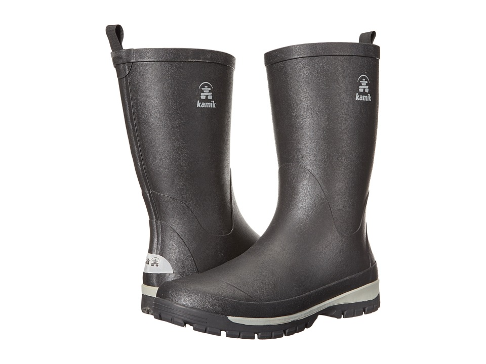 Kamik - Lars (Black) Mens Rain Boots