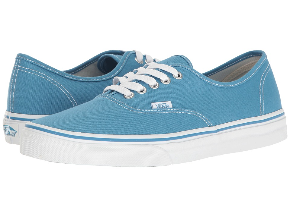 Vans Authentictm ((Canvas) Cendre Blue/True White) Skate Shoes