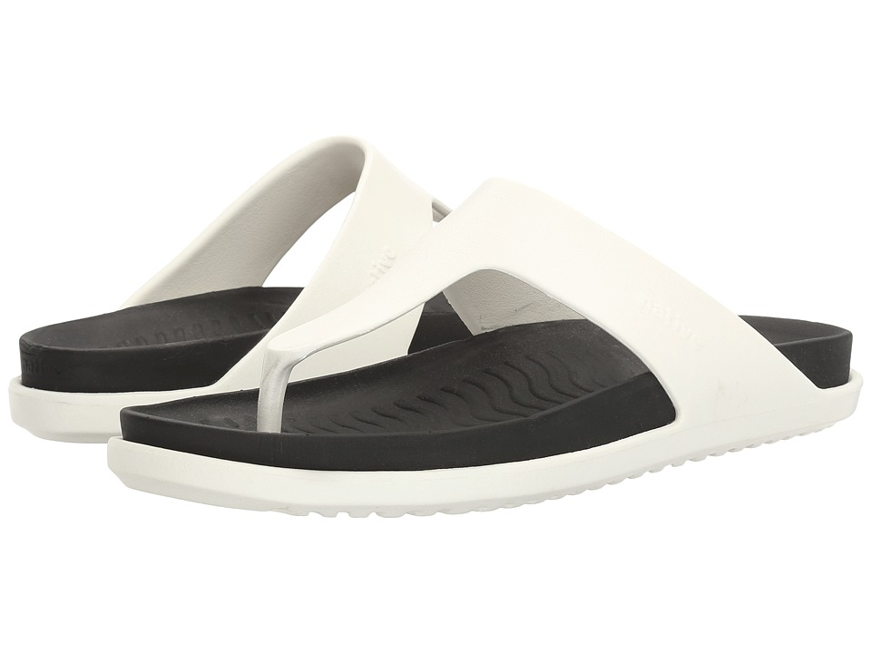 Native Shoes - Turner LX (Shell White/Jiffy Black) Sandals