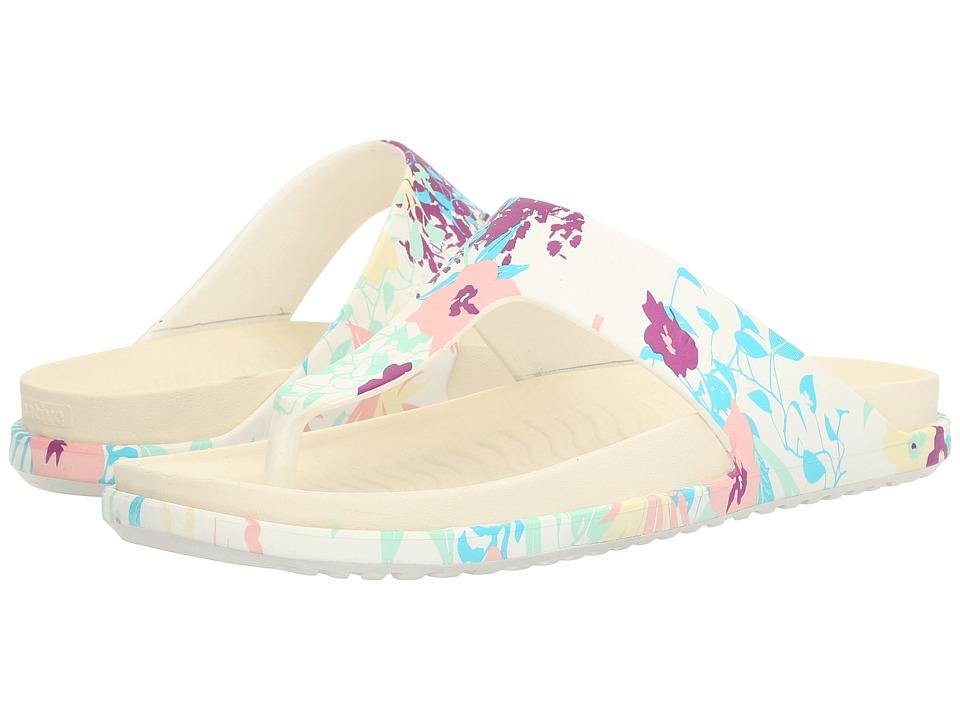 Native Shoes Turner LX (Shell White/Bone White/Bouquet) Sandals