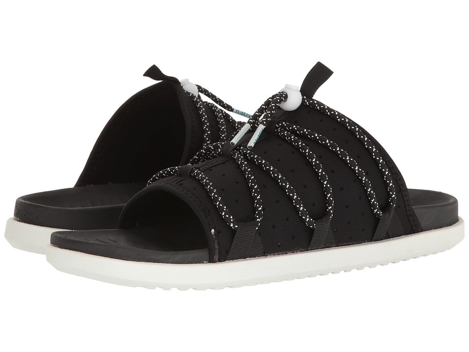 Native Shoes - Palmer (Jiffy Black/Jiffy Black/Shell White) Sandals