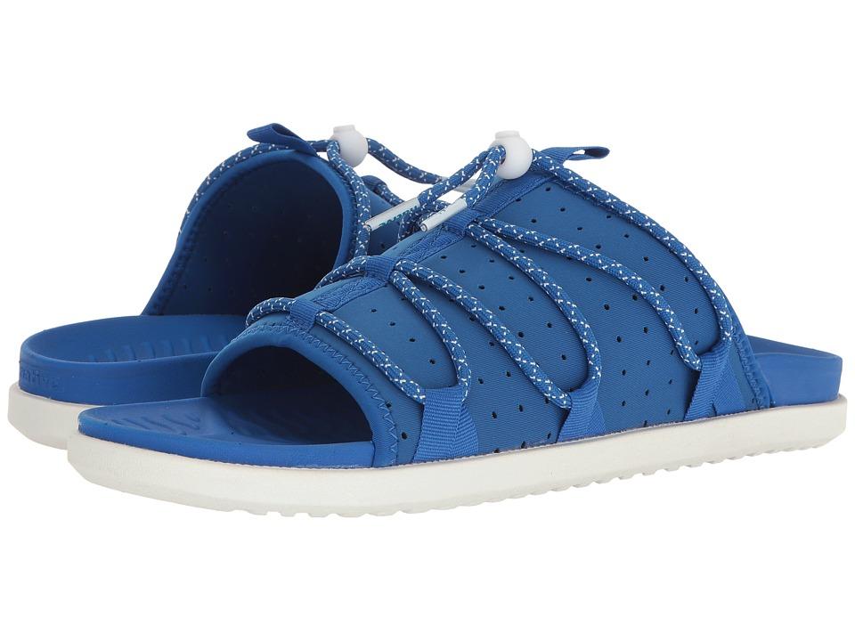 Native Shoes Palmer (Victoria Blue/Victoria Blue/Shell White) Sandals
