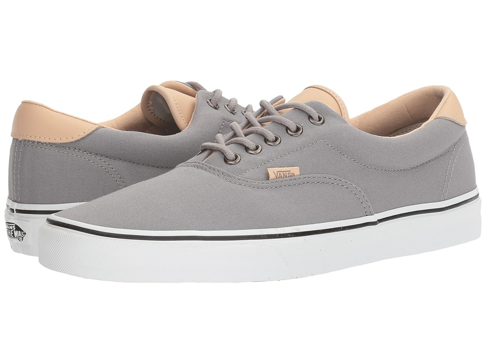 Vans Era 59 ((Veggie Tan) Frost Gray/True White) Skate Shoes