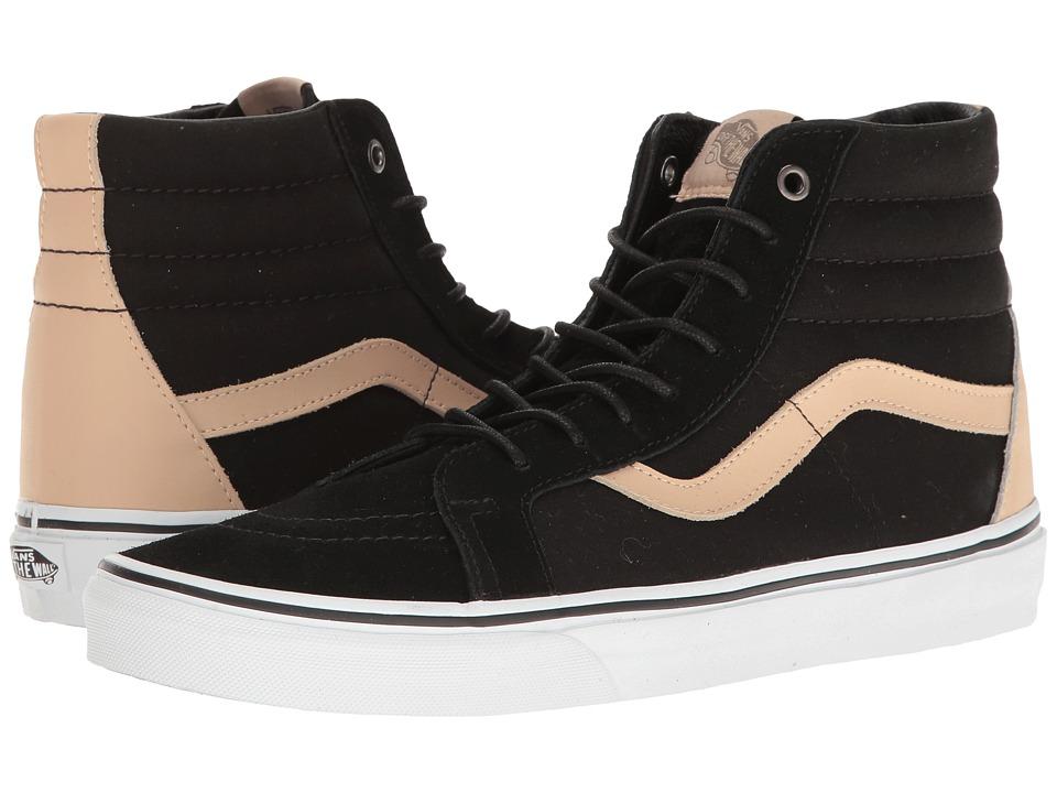 Vans SK8-Hi Reissue ((Veggie Tan) Black/True White) Skate Shoes