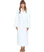 Oscar de la Renta - Embossed Plush Long Robe