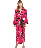 Oscar de la Renta - Printed Poly Crepe Long Robe