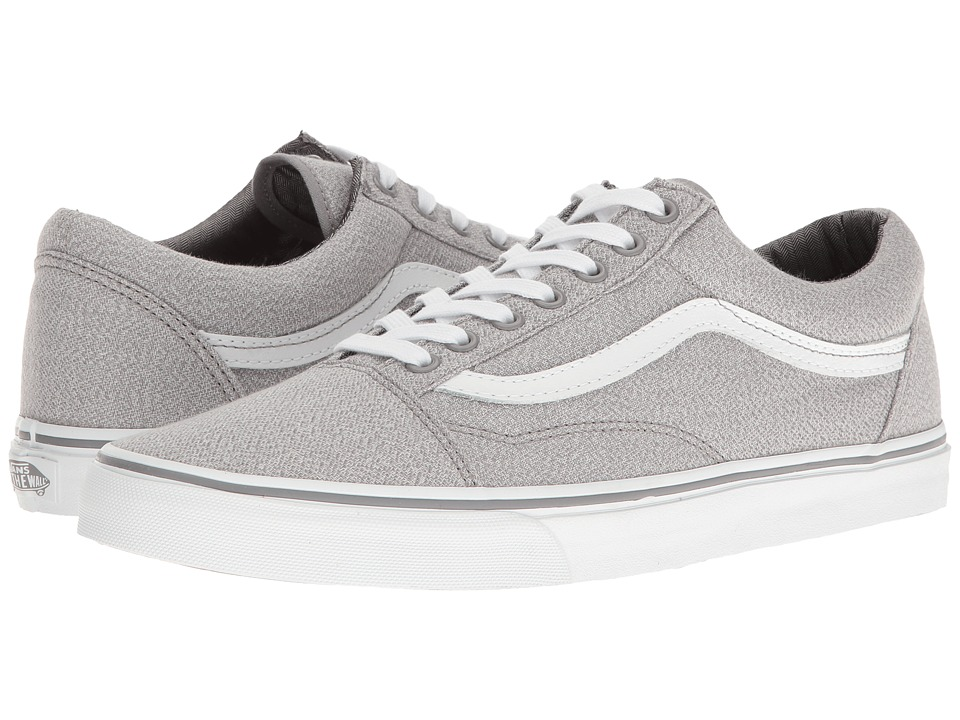 Vans - Old Skool ((Suiting) Frost Gray/True White) Skate Shoes