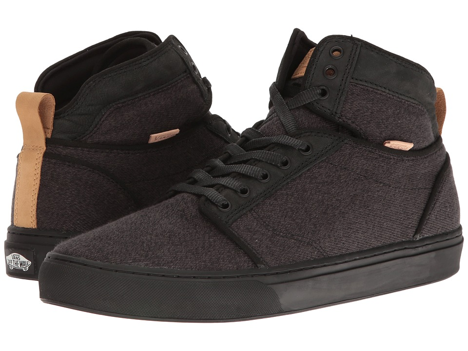 Vans Alomar ((Stealth Fleck) Black/Black) Skate Shoes