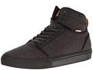 Alomar ((Stealth Fleck) Black/Black) Skate Shoes