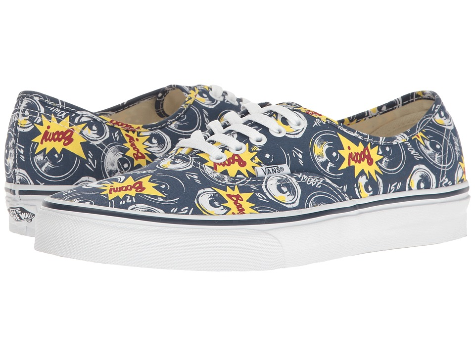 Vans Authentictm ((Freshness) Boom City/True White) Skate Shoes