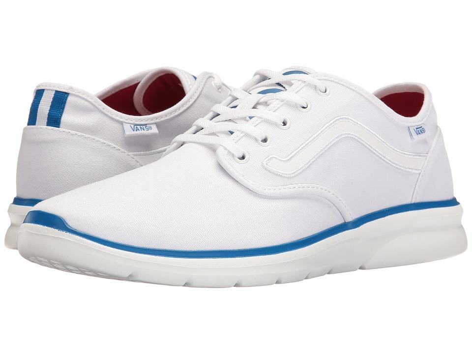 Vans Iso 2 ((1966) True White/Blue) Skate Shoes