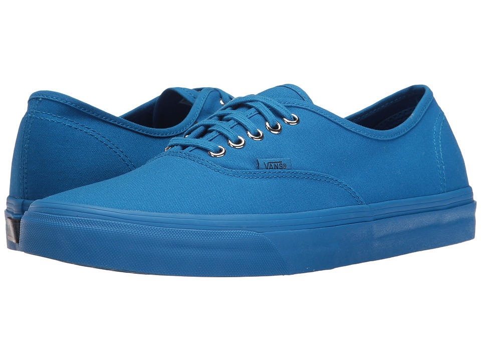 Vans Authentictm ((Primary Mono) Imperial Blue/Silver) Skate Shoes