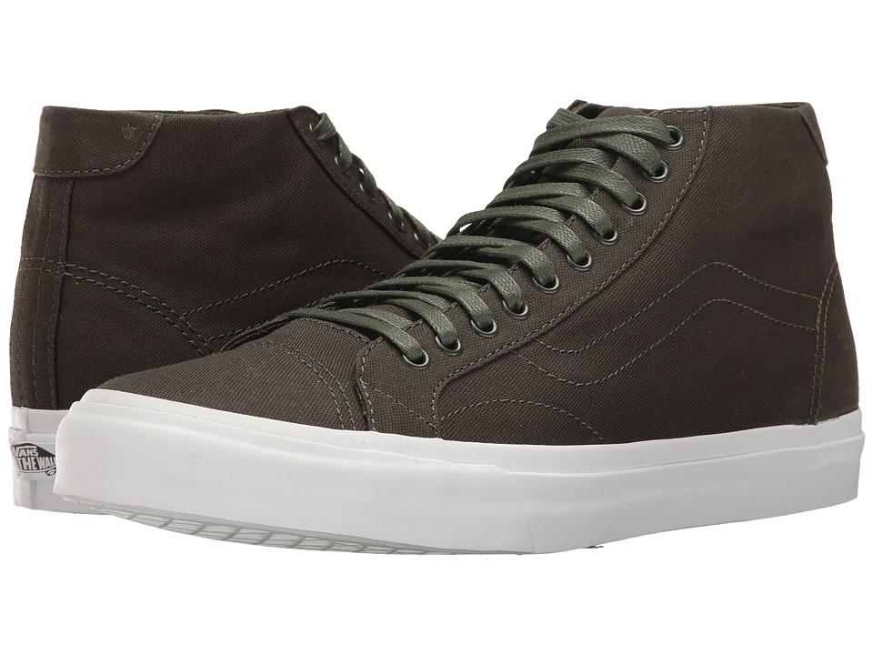 Vans - Court Mid ((Canvas) Duffel Bag) Mens Skate Shoes