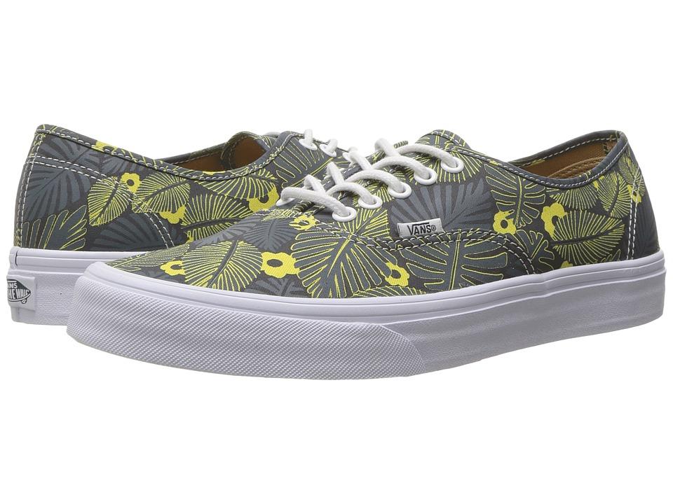 Vans Authentictm ((Tropic Havana) Dark Slate/Parisian Night) Skate Shoes
