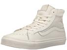 Sk8-Hi Slim Cutout DX ((Square Perf) Blanc De Blanc) Skate Shoes