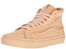 Sk8-Hi Slim Cutout DX ((Square Perf) Amberlight) Skate Shoes