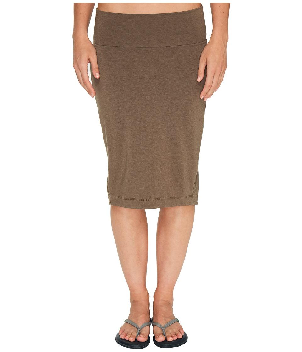 NAU Astir Lapiz Skirt (Sable) Women