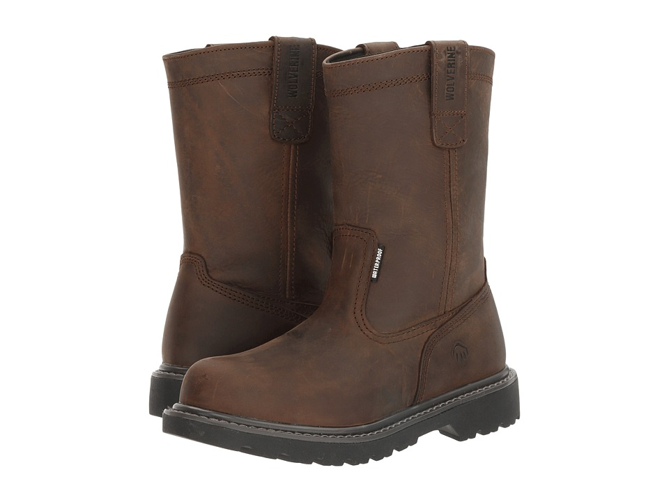 Wolverine Floorhand 10 Steel Toe (Dark Brown) Women