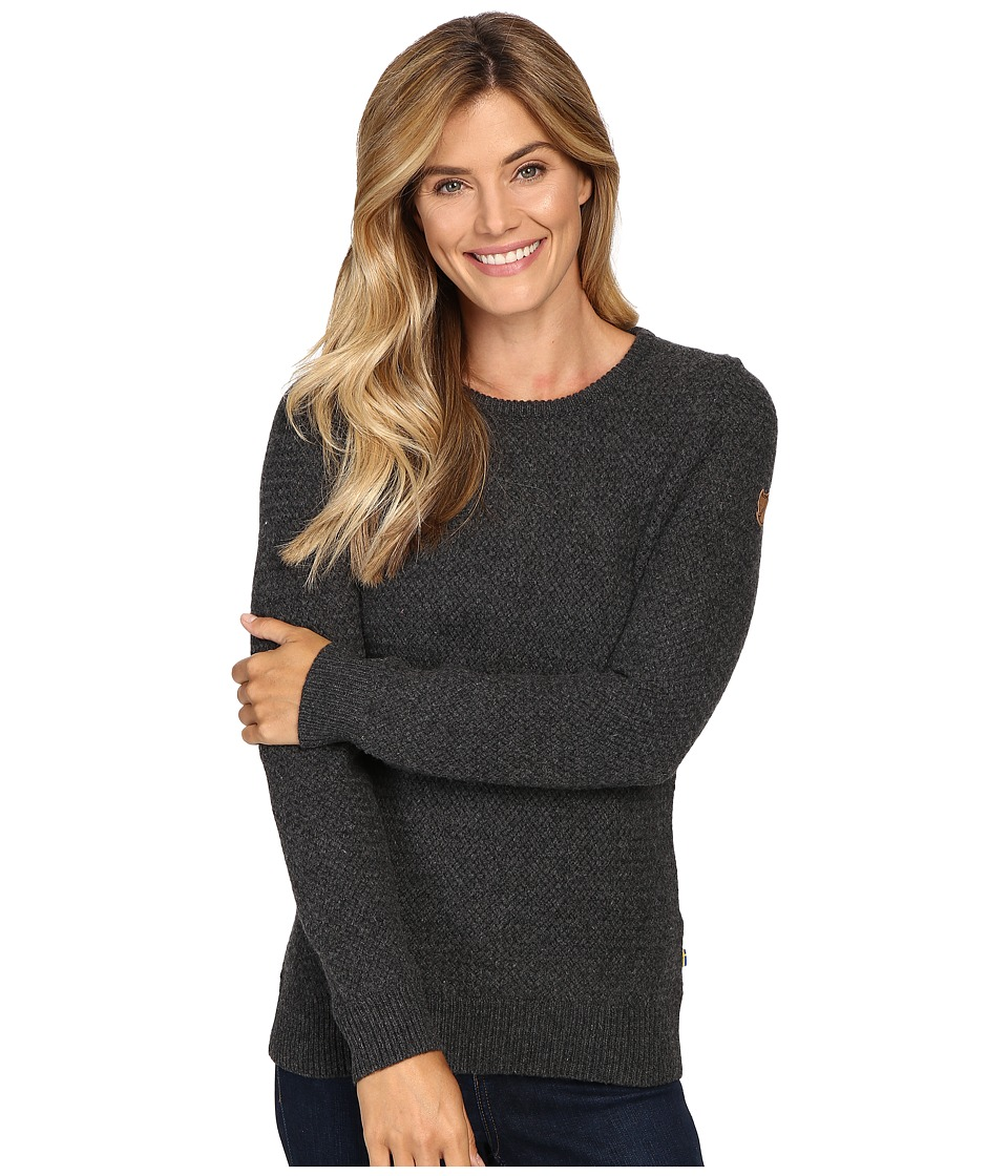 Fj llr ven vik Structure Sweater (Dark Grey) Women