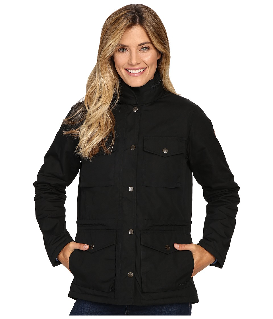 Fjallraven Raven Winter Jacket (Black) Women