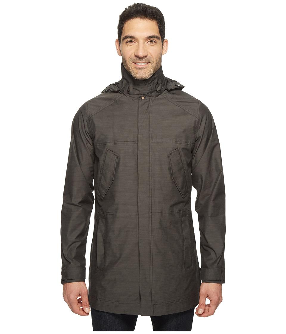 Nau Quintessenshell Trench Coat (Caviar) Men's Coat