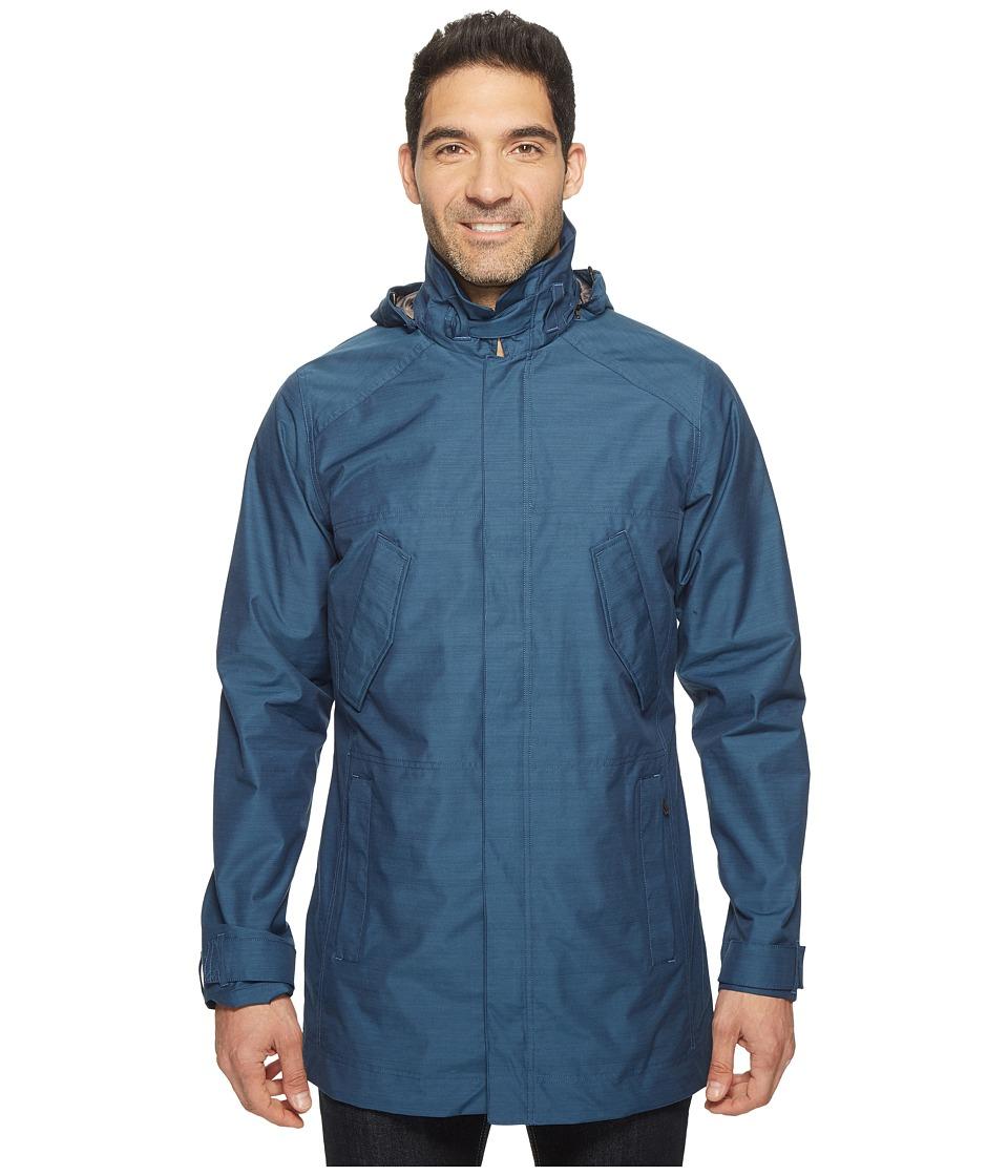 Nau Quintessenshell Trench Coat (Space) Men's Coat