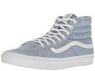 SK8-Hi Slim ((Speckle Jersey) Blue/True White) Skate Shoes