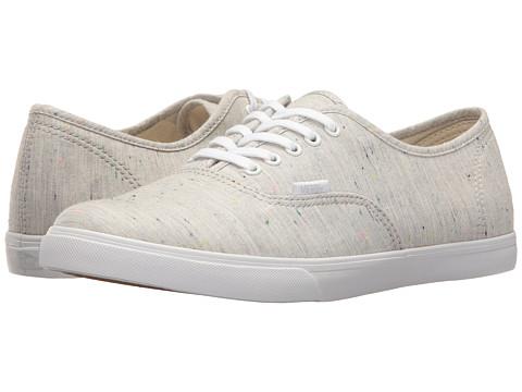 Vans Authentic™ Lo Pro - (Speckle Jersey) Gray/True White