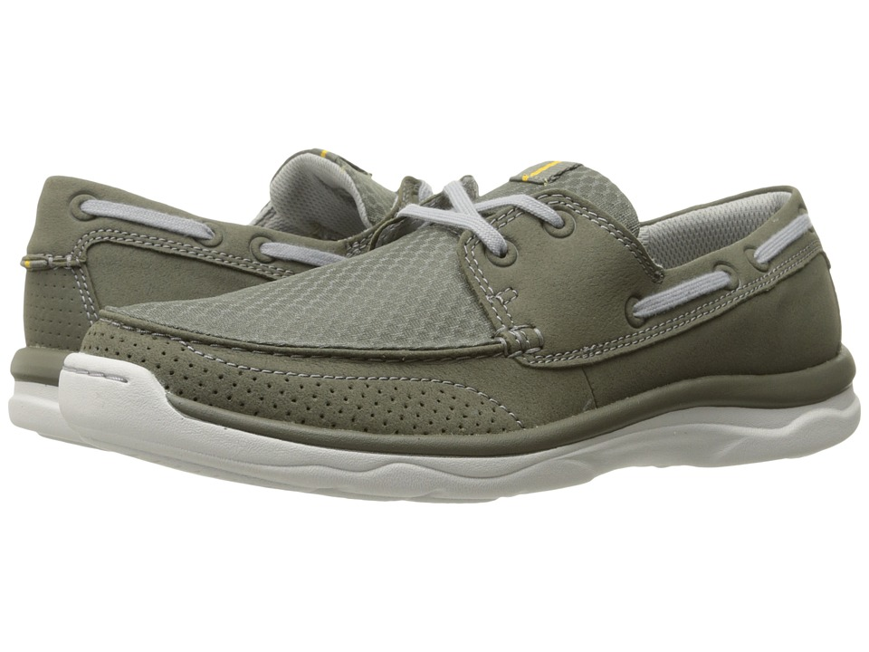 Clarks Marus Edge (Olive Synthetic) Men