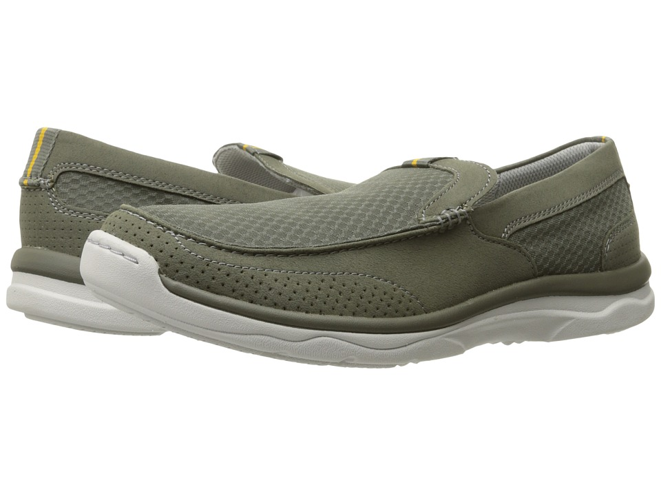 Clarks Marus Step (Olive Synthetic) Men