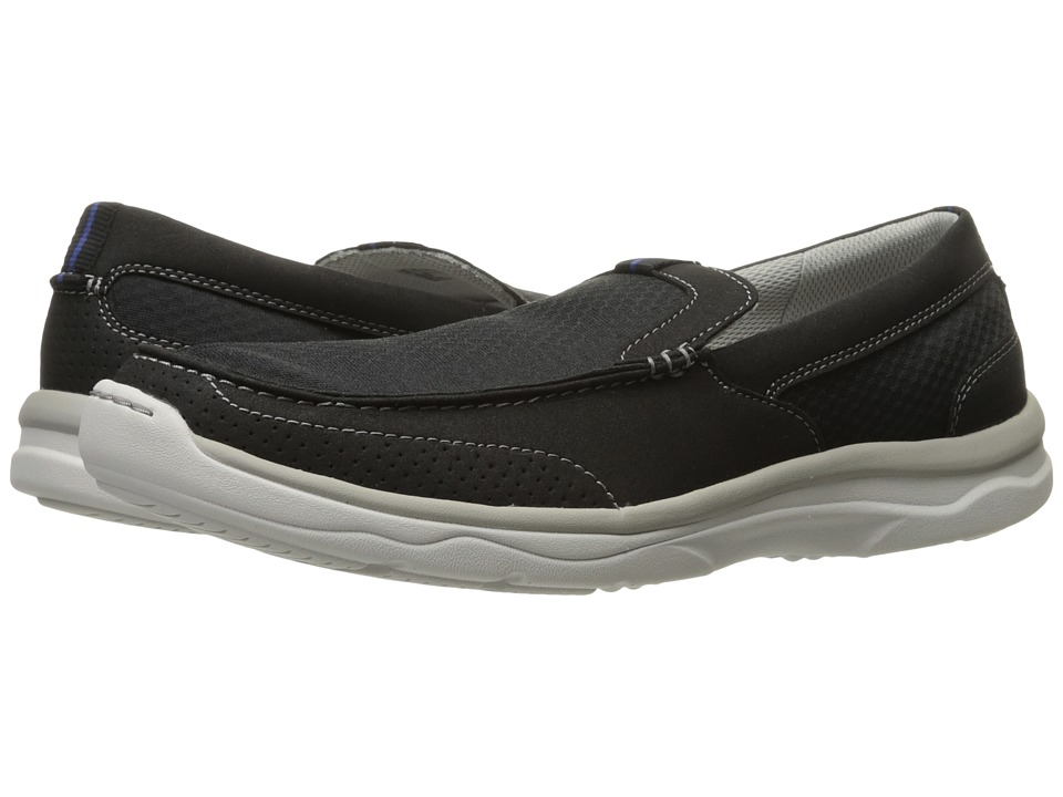 Clarks Marus Step (Black Synthetic) Men