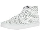 SK8-Hi Slim ((Sayings) True White) Skate Shoes