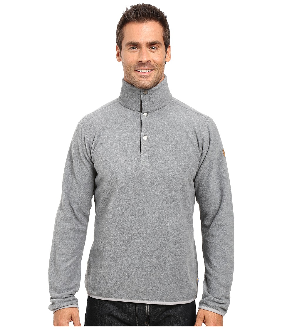 Fjallraven - Ovik Fleece Sweater (Grey) Mens Sweater