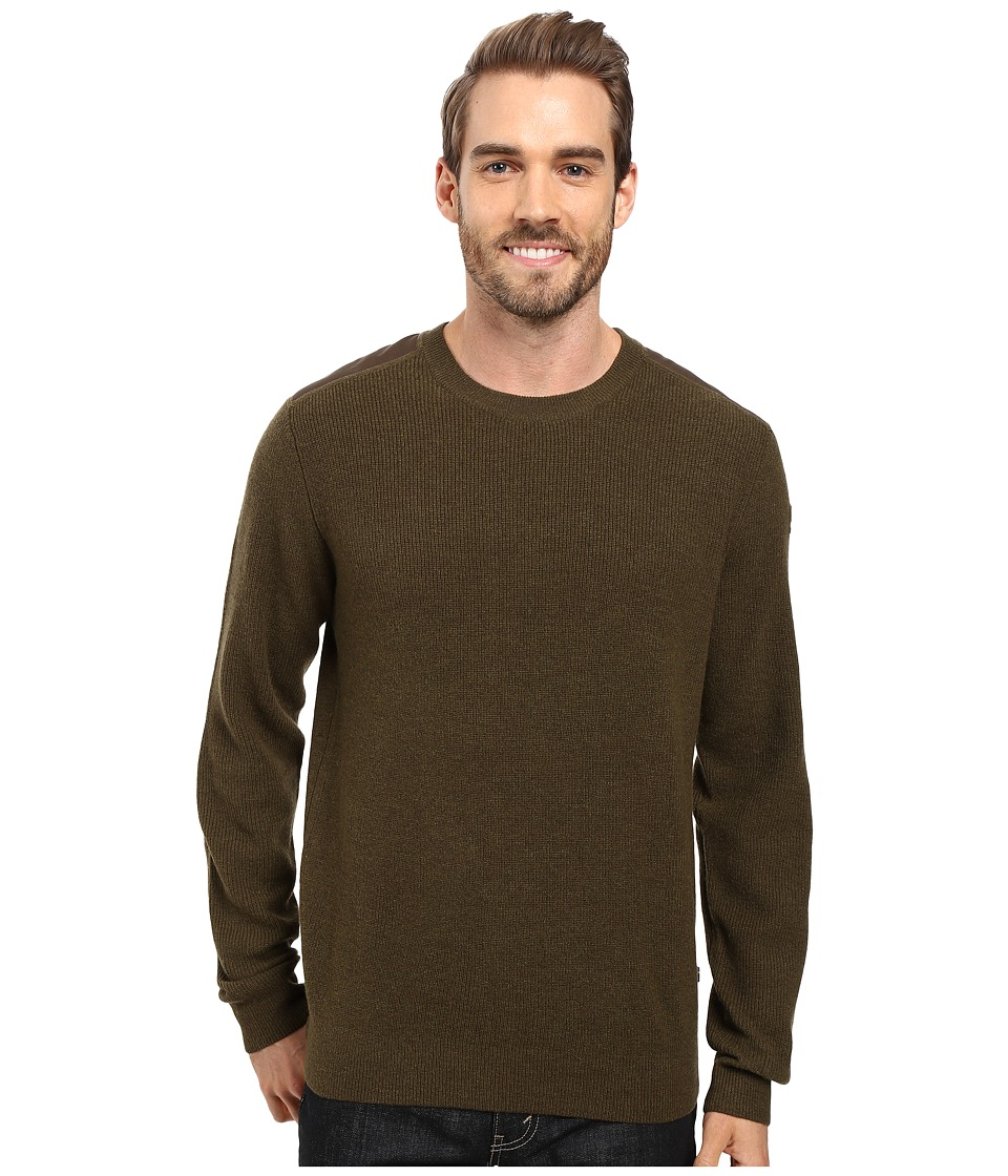 Fjallraven Sormland Crew Sweater (Dark Olive) Men