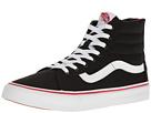 SK8-Hi Slim Zip ((Valentines) Black/Racing Red) Skate Shoes