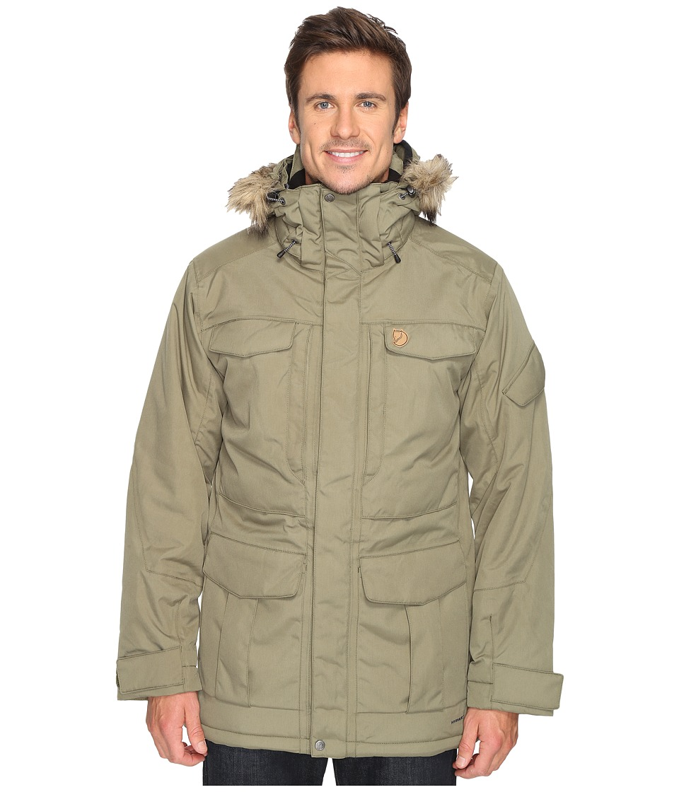 Fjallraven - Yupik Parka (Green) Mens Coat