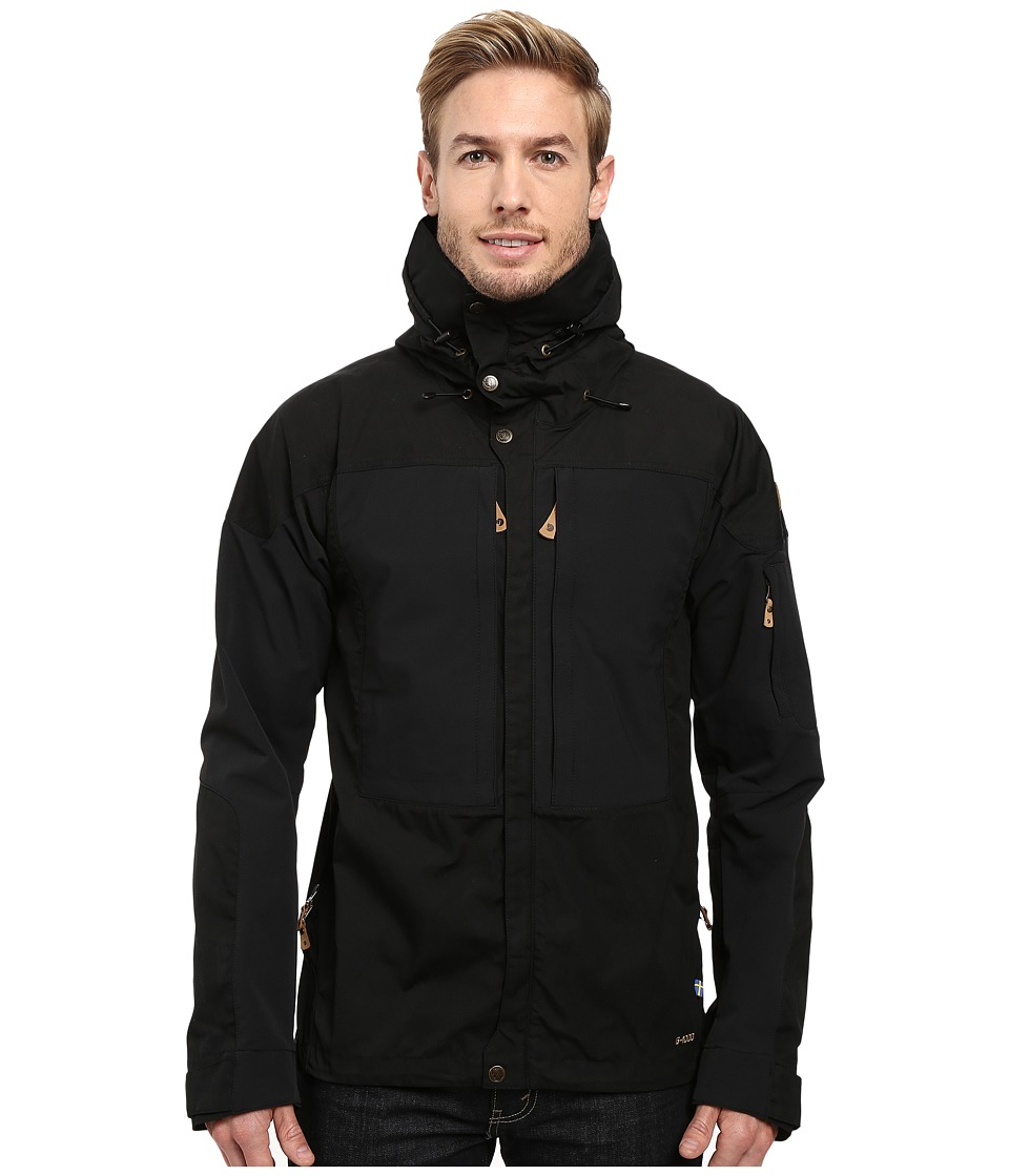 Fj llr ven Keb Jacket (Black/Black) Men