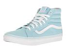 SK8-Hi Slim (Crystal Blue/True White) Skate Shoes