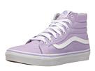 SK8-Hi Slim (Lavender/True White) Skate Shoes